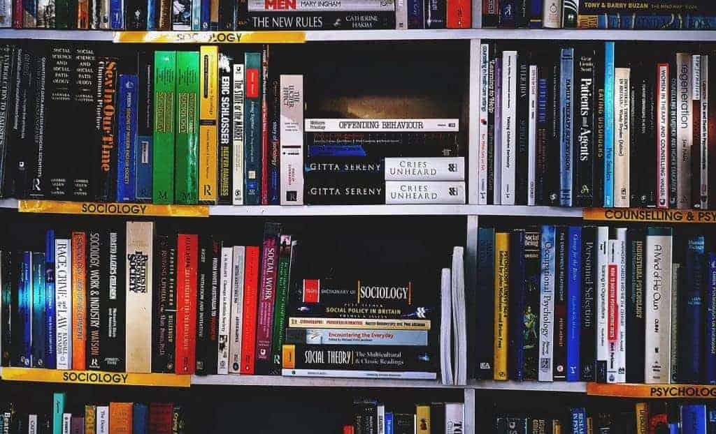 Books on a bookshelf - graded readers