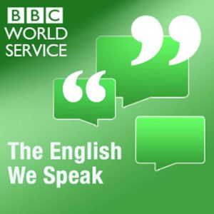 Logo of The English We Speak podcasts