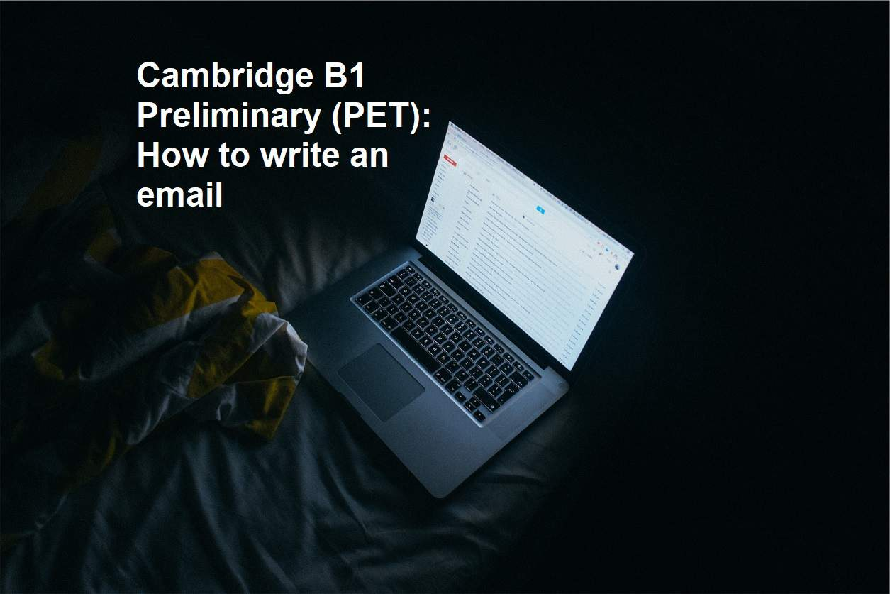 PET - How to Write an Email