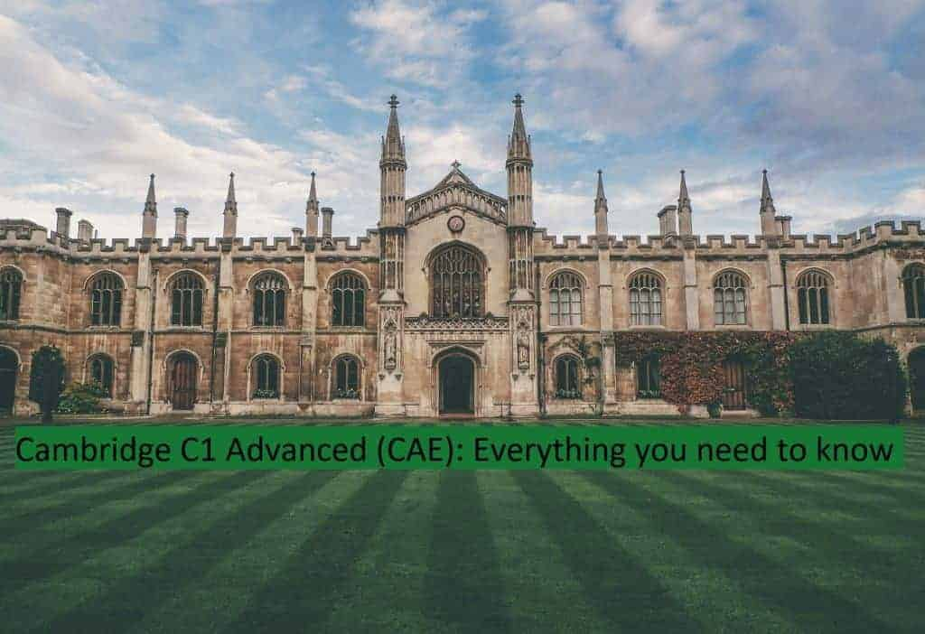 CAE - Everything You Need To Know