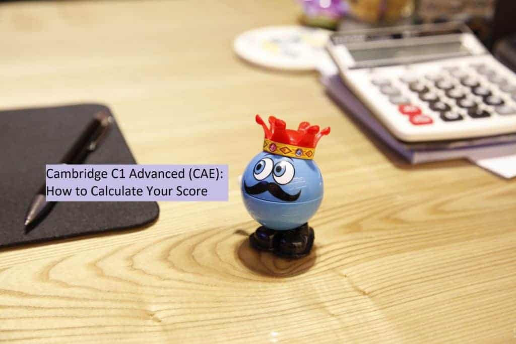 CAE - How to Calculate Your Score